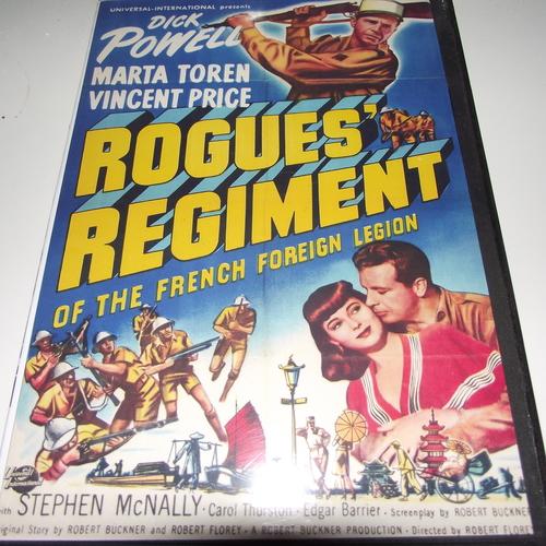 ROGUES REGIMENT 1948 DVD
