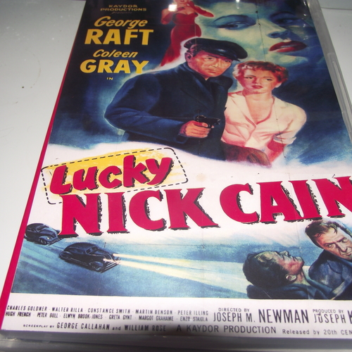 LUCKY NICK CAIN 1951 DVD