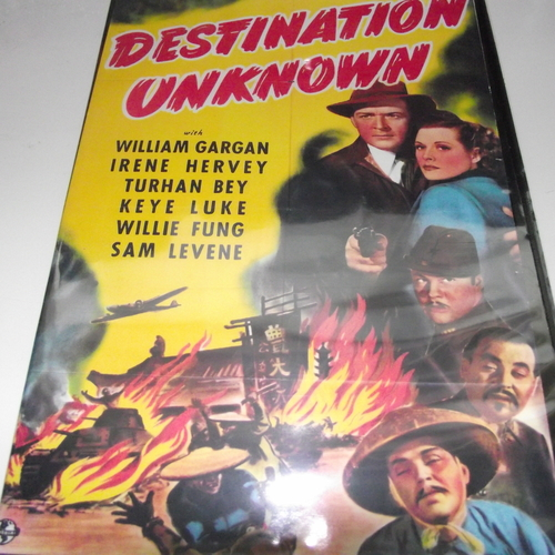 DESTINATION UNKNOWN 1942 DVD