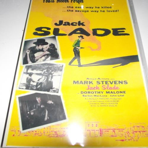 JACK SLADE 1954 DVD
