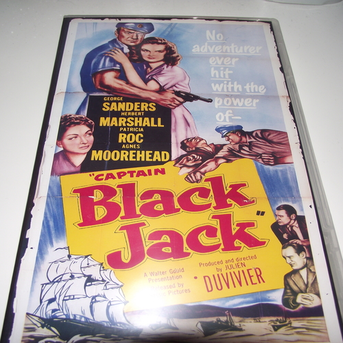CAPTAIN BLACK JACK 1950 DVD