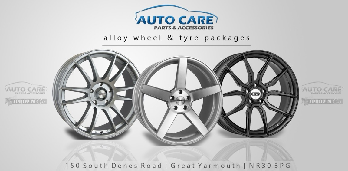 Van alloy wheel packages
