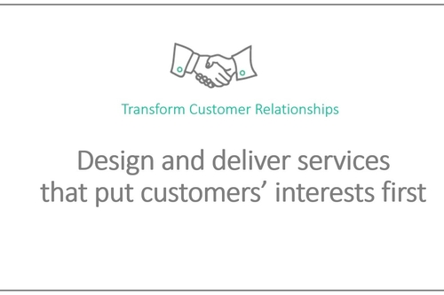 Develop customer-led organisations - overview