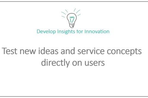 See what will make a difference to users