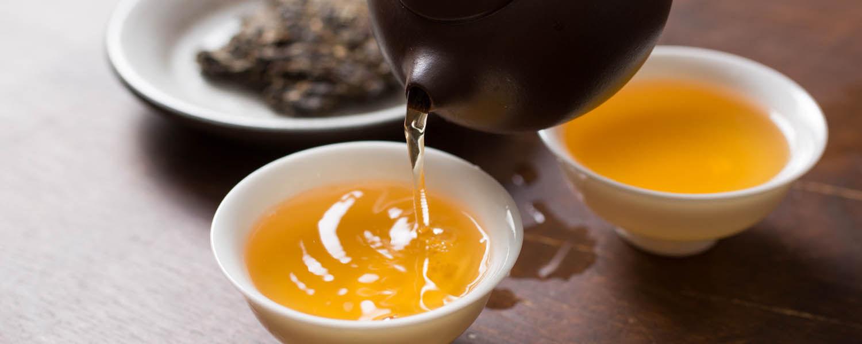 Oolong and Green Tea