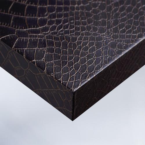 Cover Styl'® X6 - Chocolate Leather Crocodile Skin