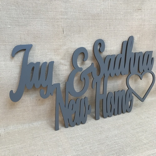 Statement wall plaques