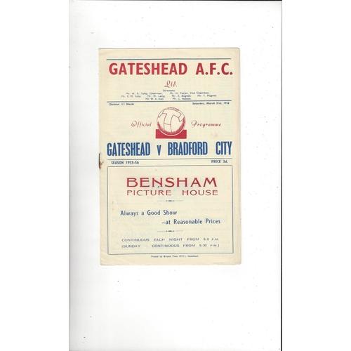 Gateshead Home Football Programmes