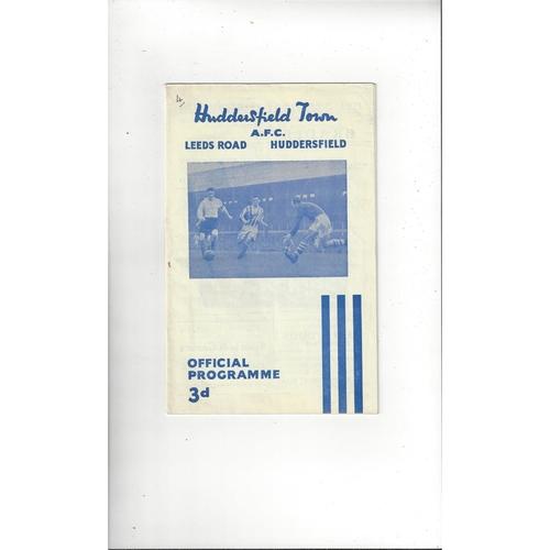 Huddersfield Town Home Football Programmes