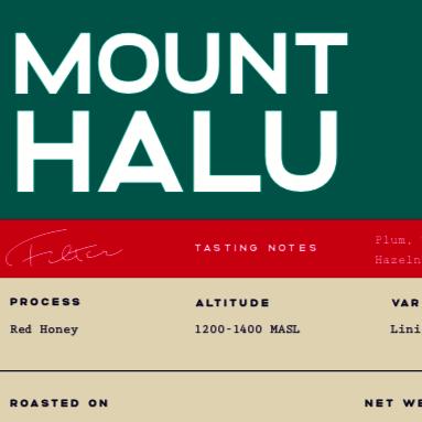 Mount Halu