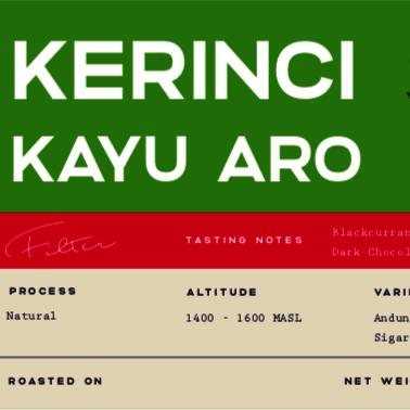 Kerinci Kayu Aro Natural