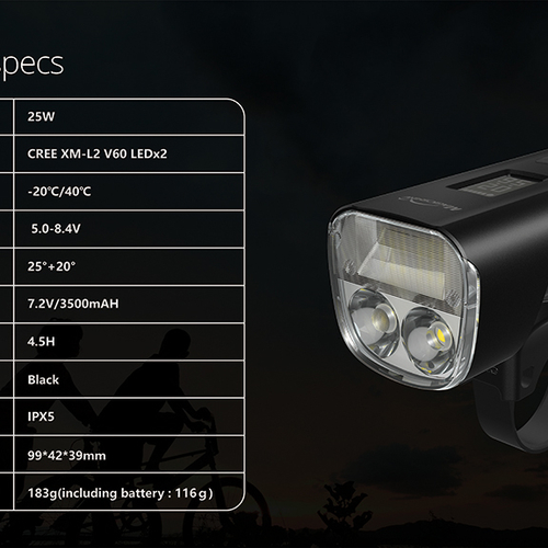 Magicshine Allty 2000 Front Bike Light