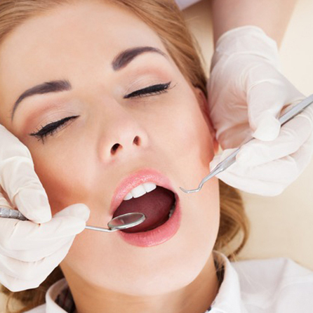 Sedation for extractions and fillings