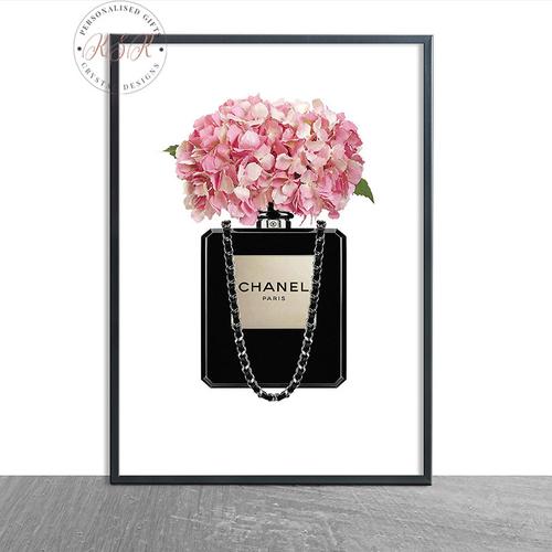 Black Floral Perfume