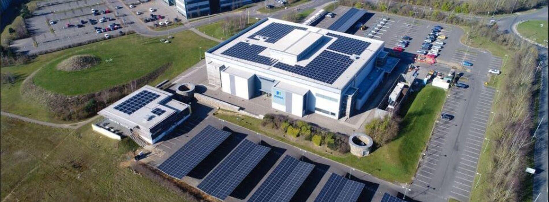 Solar car ports, Aviva Norwich, Ground anchors