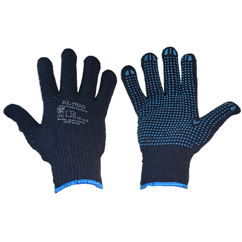 Dotted grip glove