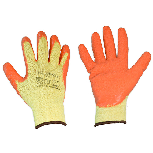 Orange Grip Glove