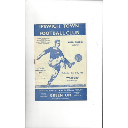 Ipswich Town Home Football Programmes
