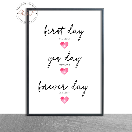 First Day, Yes Day, Forever Day