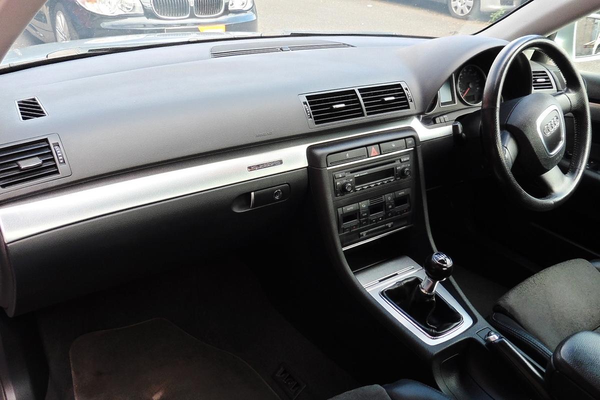 Audi A4 2.0 TFSI S line quattro 4dr - Half Leather / Half Suede Interior!