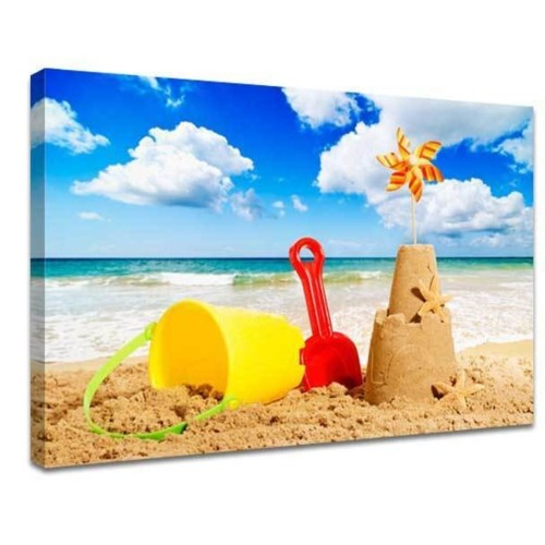 Holiday photo on canvas