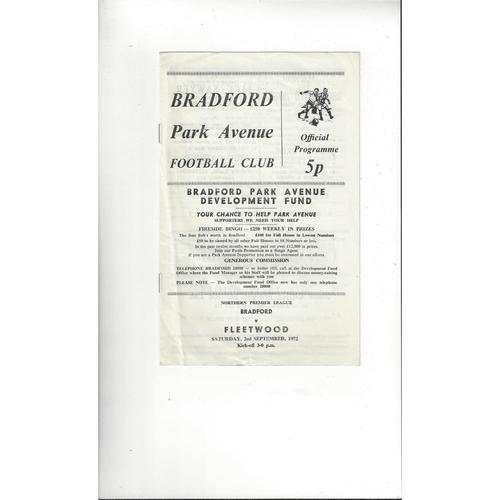 Fleetwood Town Away Football Programmes