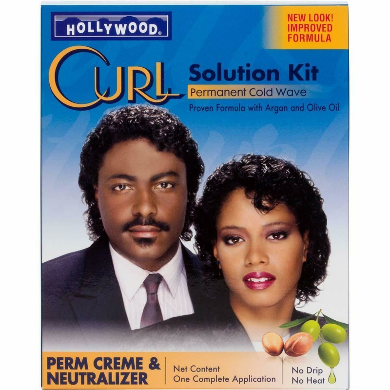 Hollywood Curl Perm Kit Product
