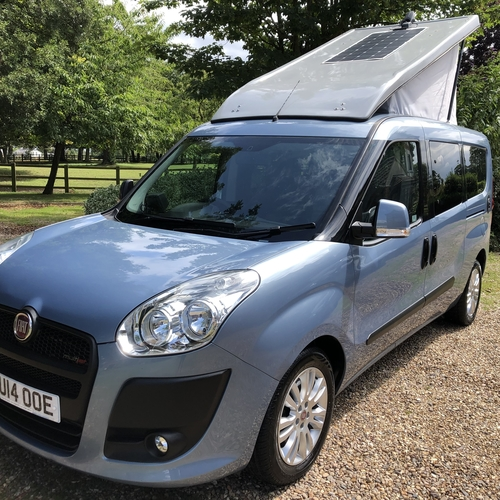2014 Fiat Doblo MyLife MAXI Camper Van 4 Berth - Amazing specification - 1 OWNER