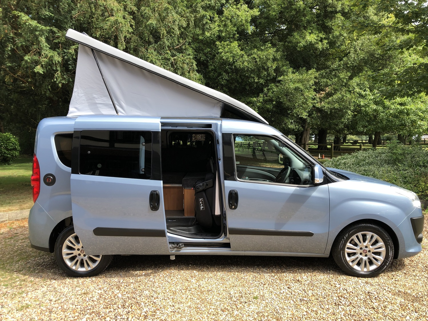 2014 Fiat Doblo Mylife Maxi Camper Van 4 Berth Amazing Specification 1 Owner Dragonville Leisure Lincolnshire Camper Vans And Motorhomes