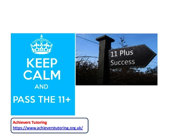 11 Plus (11+) Success Tips for Parents