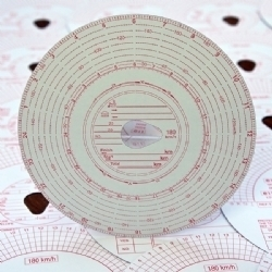Analogue Tachograph Charts (180)