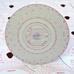 Analogue Tachograph Charts (180)