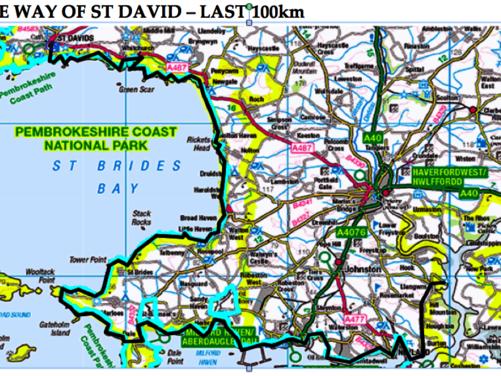 Way of St David Pilgrimage, Pembrokeshire, Wales (Full)