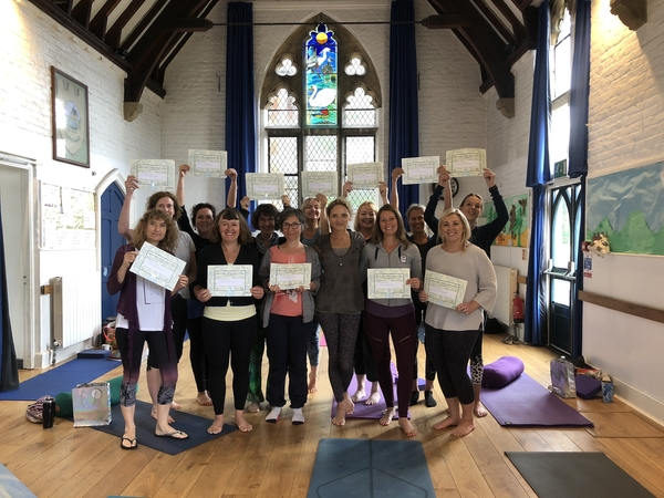 Congratulations to Harmonyoga's new BWYQ Teachers
