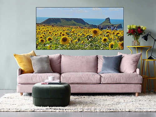 Extra large canvas prints.