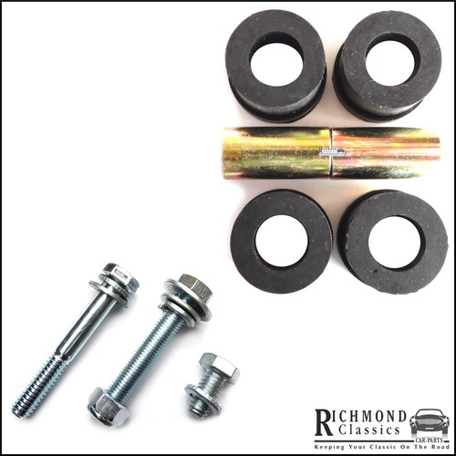 Classic Mini Top Engine Steady Rubber Bushes with Bolt Pack CRC5329