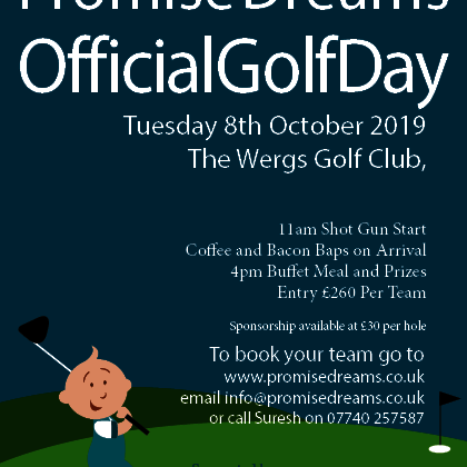 Promise Dreams Official Golf Day 2019