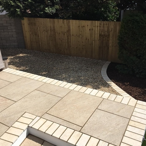 Jupiter Beige Porcelain Paving