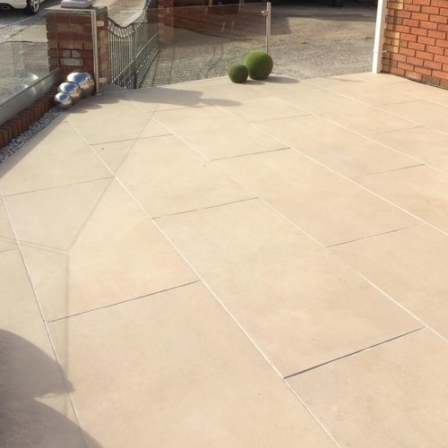 Galaxy Sand Porcelain Paving