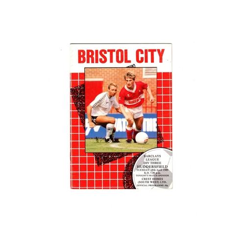 Huddersfield Town Away Football Programmes