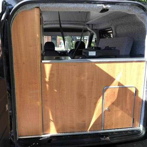 2011 (61)reg Fiat Doblo 16v SX Multijet Micro Camper Van 2 Berth - 41072 Miles