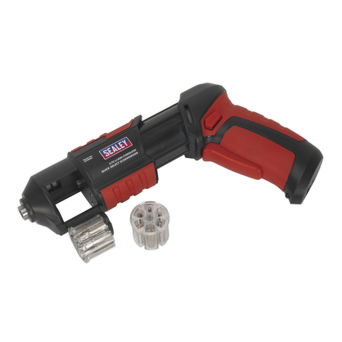 Cordless Screwdriver Quick Select 14pc 3.7V Lithium-ion USB - Sealey - CP36MS