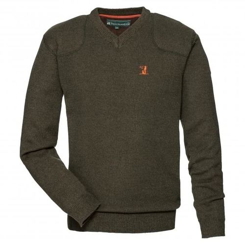 Percussion V Neck Hunting Sweater 15121
