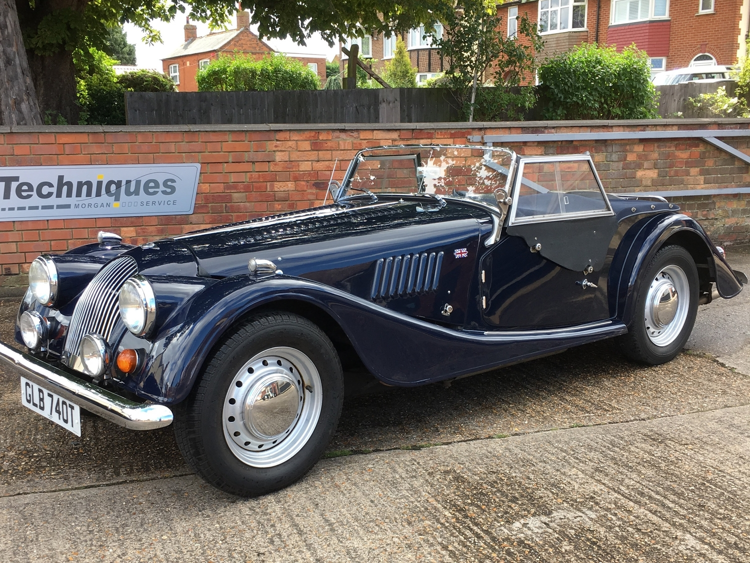 SOLD - Classic Morgan 4/4 2-seater