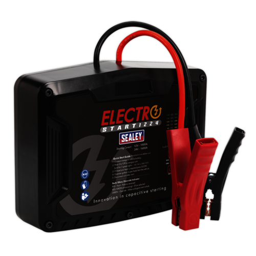 ElectroStart® Batteryless Power Start 1000/1600A 12/24V - Sealey - E/START1224