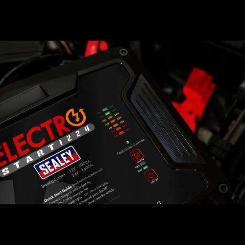 ElectroStart® Batteryless Power Start 1000/1600A 12/24V - Sealey - E/START1224
