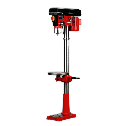 Pillar Drill Floor 16-Speed 1580mm Height 550W/230V - Sealey - GDM160F