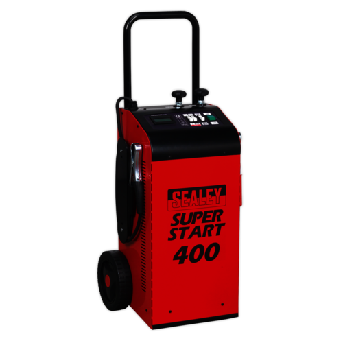 Starter/Charger 400Amp 12/24V - Sealey - SUPERSTART400