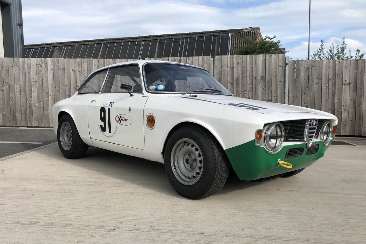 1970 Alfa Romeo GTA (being prepared for sale)