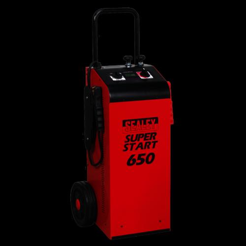 Starter/Charger 650Amp 12/24V - Sealey - SUPERSTART650
